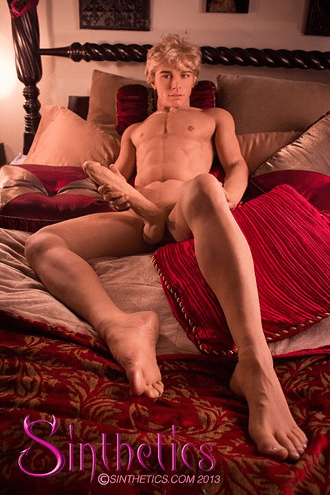 Here is a Sexy Male Sex Doll with an 11-inch Penis