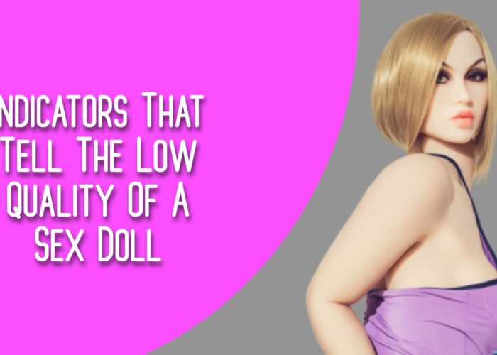 Indicators That Tell The Low Quality Of A Sex Doll
